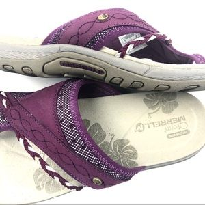Merrell Shoes - Merrell Q Form Purple Arch Cushioned Sandal Size 8